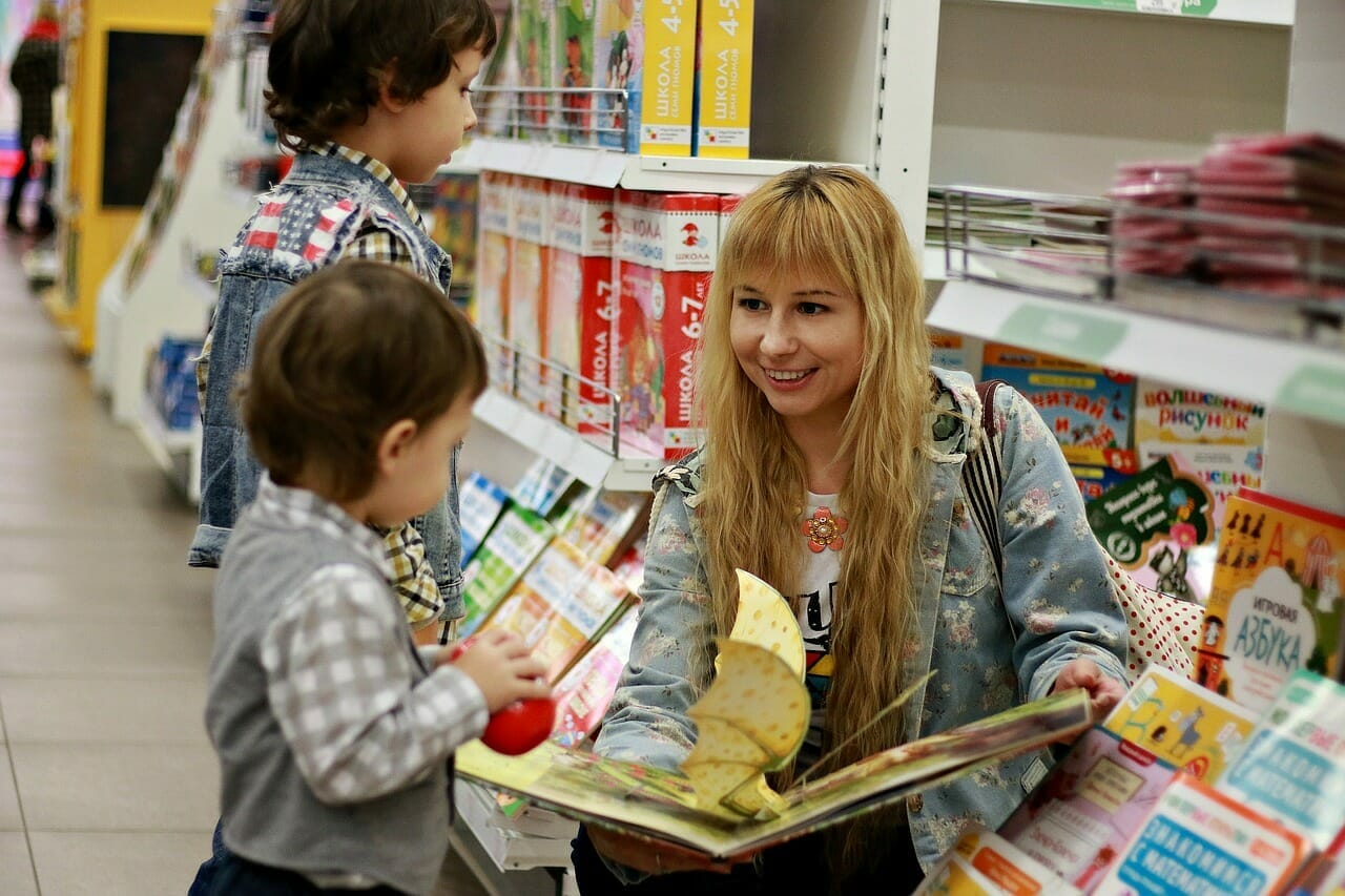Enseña a tus hijos a leer