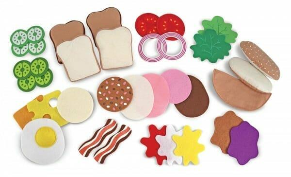 set de juguete para hacer tu sandwich favorito