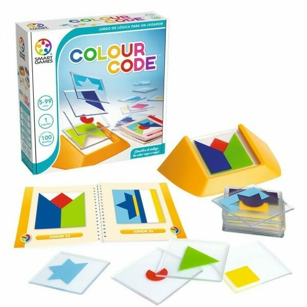 colour code, explora la creatividad de los niños a través de los colores